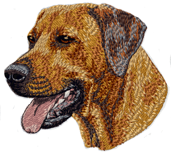 "Rhodesian Ridgeback Dog Embroidered Patch 3"" FREE USA SHIPPING"