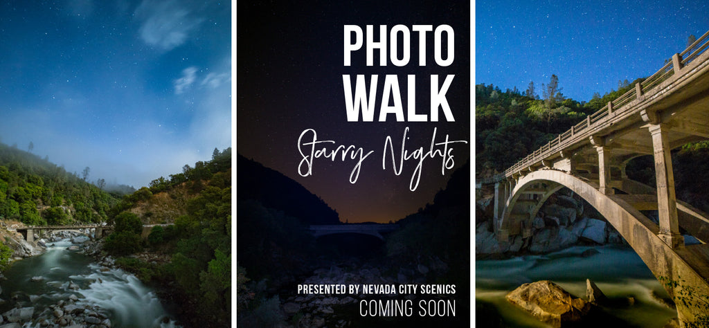 Starry Nights Photo Walk at the Yuba River