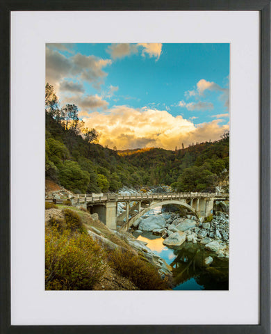 Yuba River Framed Print - Reflections of Beauty
