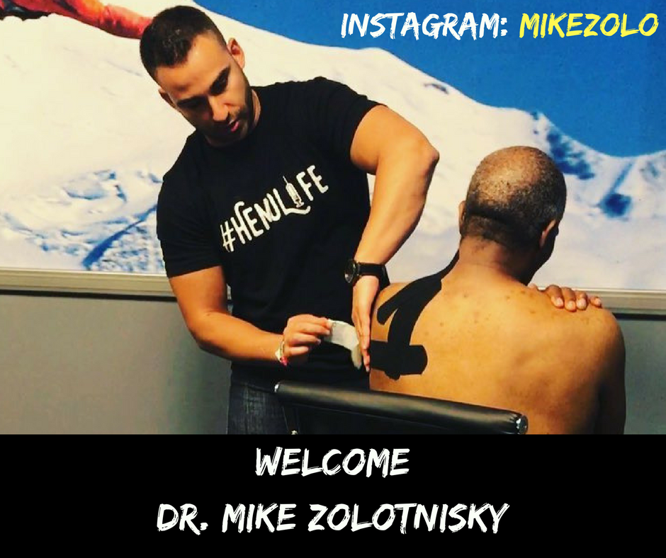 Welcome New #HemoLife Athlete Dr. Mike