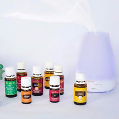 An aromatherapy device with a wide variety of essential oils.