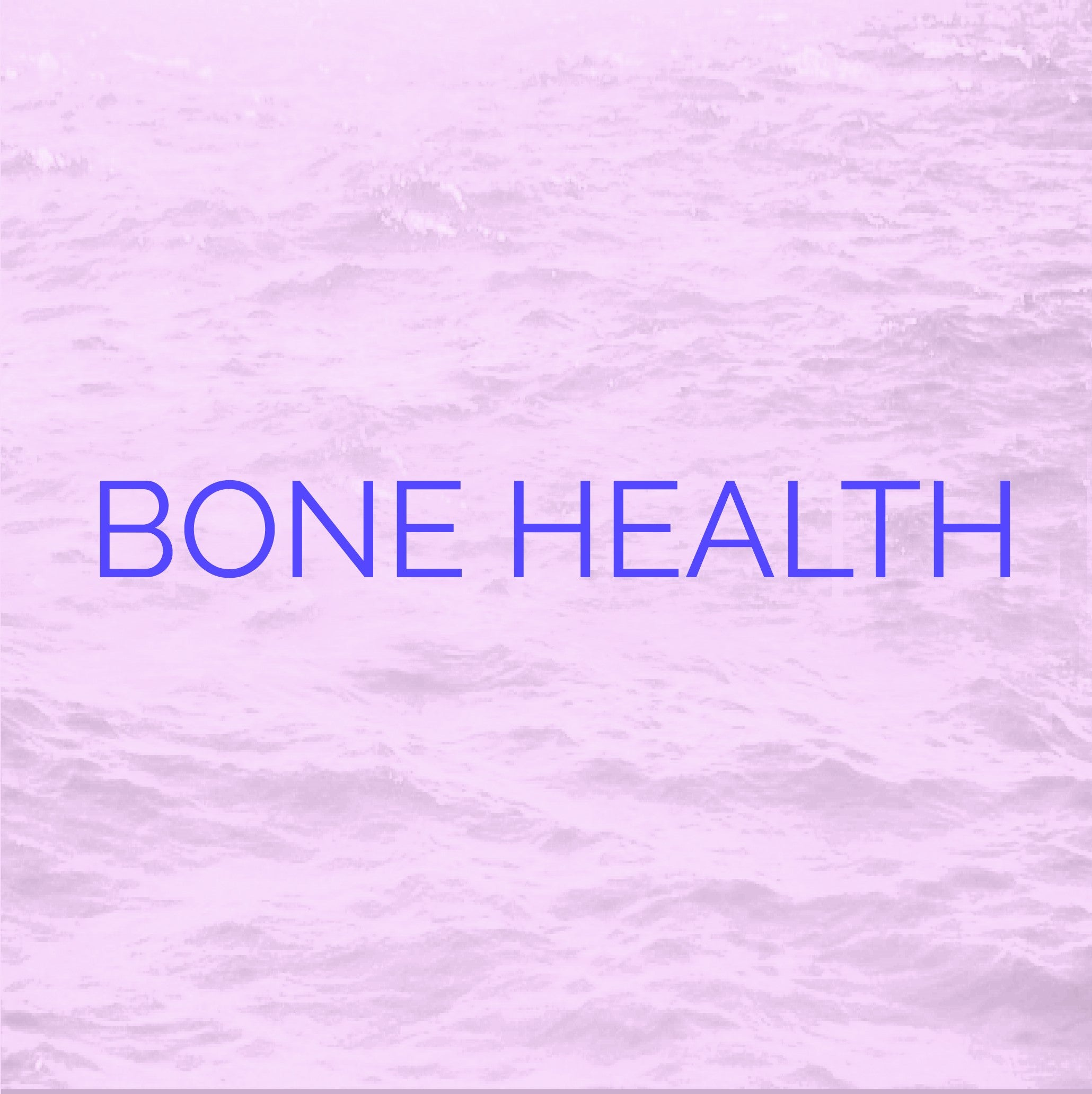 An icon representing Bone Health