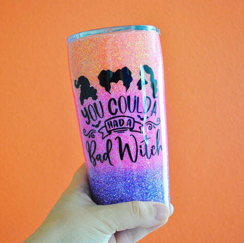Bad Witch /// Stainless Steel Tumbler