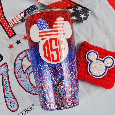 All American Mouse /// Stainless Steel Tumbler
