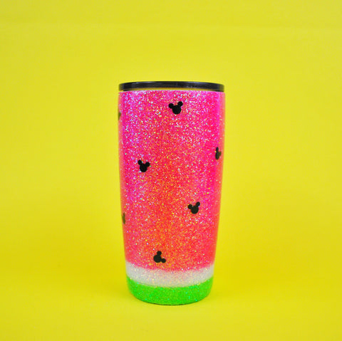 The ORIGINAL Watermelon Mouse /// Stainless Steel Tumbler