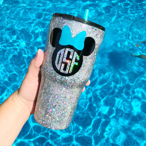 Bling Mouse Stainless Steel Tumbler