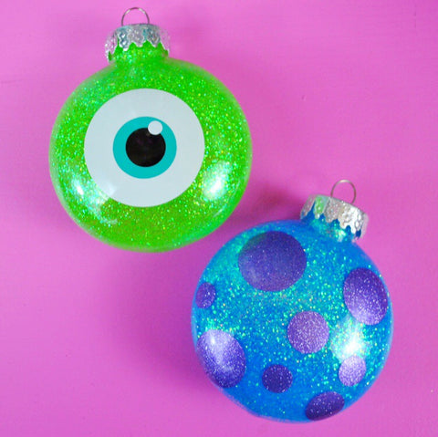 Monsters Christmas Ornaments