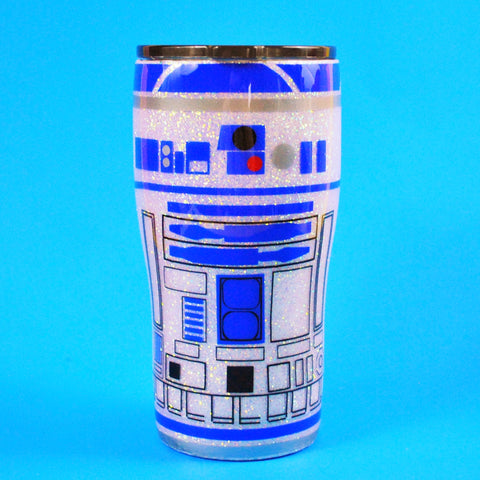 Blue Droid /// Stainless Steel Tumbler