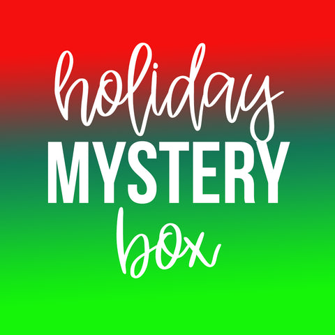 Holiday Mystery Tumbler Box