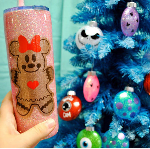 Gingerbread /// Stainless Steel Tumbler