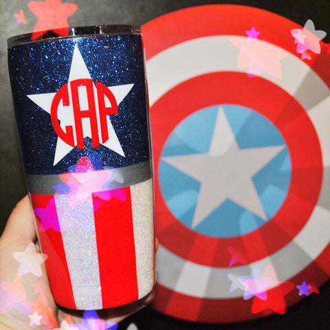 American Hero /// Stainless Steel Tumbler