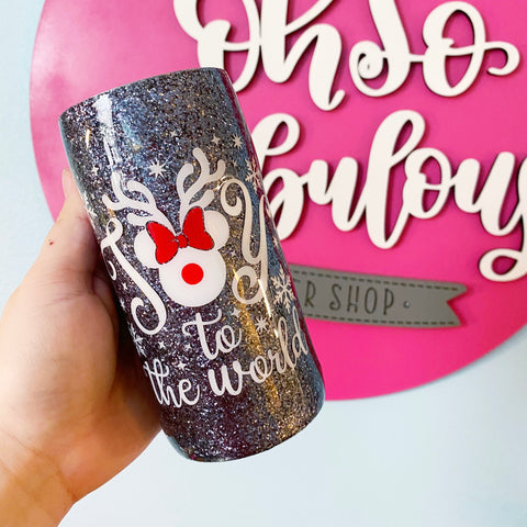 Joy to the World Skinny Can Cooler