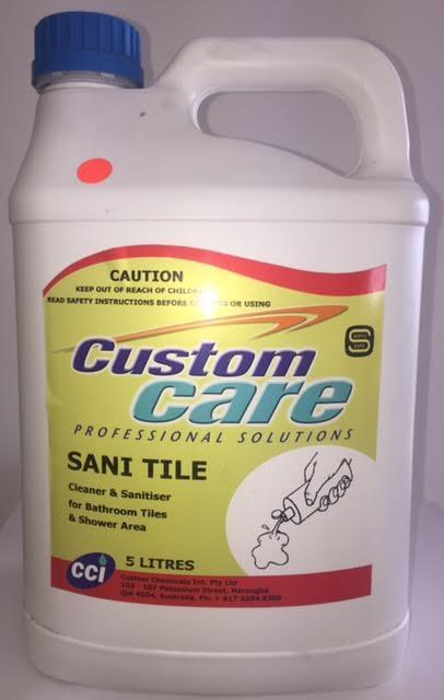 Custom Care Sani Tile Cleaner 5L