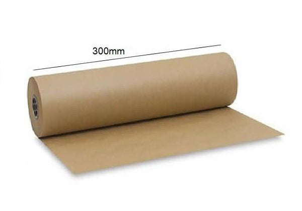 Km30050 - 300mm X  50 Mtr Brown Masking Paper - 21/Ctn