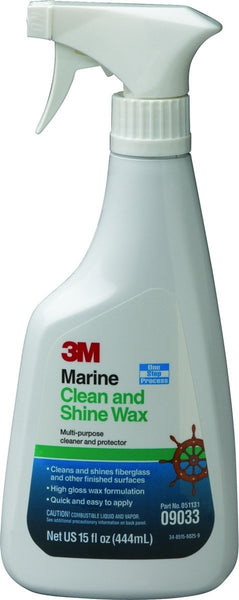 3M 09033 Marine Clean N Shine Wax Enhancer 500ml