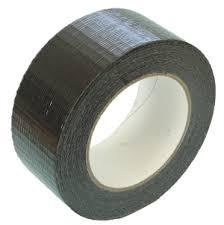 Black Cloth Tape 48mm X 25m (24 Per Carton)
