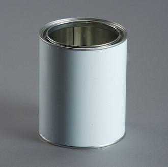 C500-B - 500 mL Open Top Tin with Lid (White)