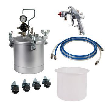 Iwata - 2spray 10Ltr Pressure Pot Kit- Pt.10.Dkit1