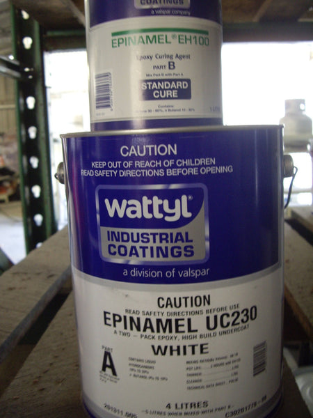 Uc230 Epinamel Epoxy Undercoat White Part A 4 Ltr