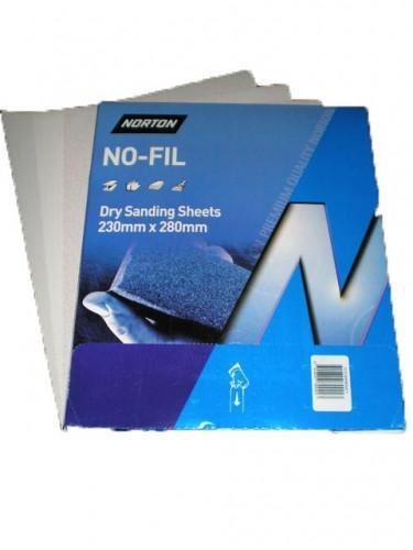 Norton P180 A239 No-Fil Sandpaper Sheets