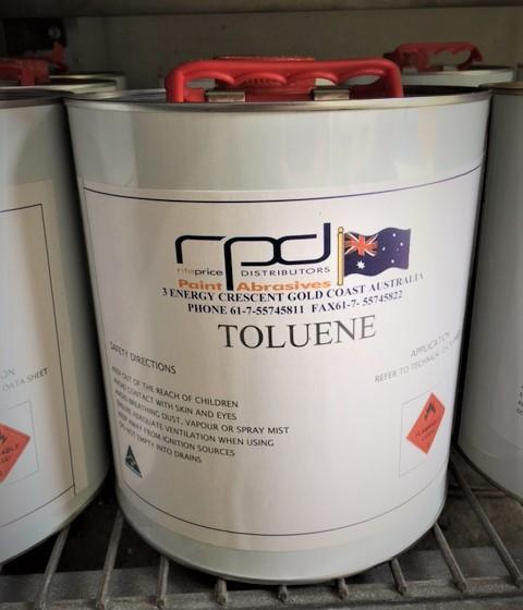 Toluene/ Contact Clean-Up Solvent