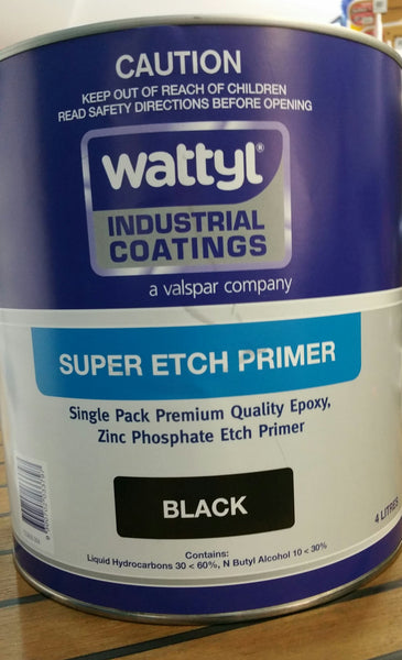 Wattyl Super Etch Black 20 Ltr