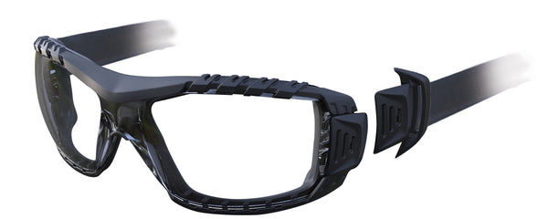 Evolve Safety Glasses with Gasket & Headband