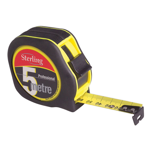 Sterling 5mtr X 19mm Metric Professional Tape Measure