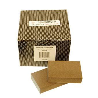 Abrasive Foam Block 98mmX70mmx28mm Course