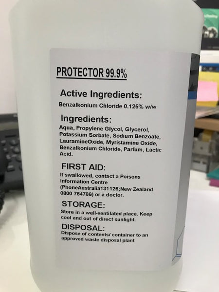 Protector Rinse Free Hand Sanitiser