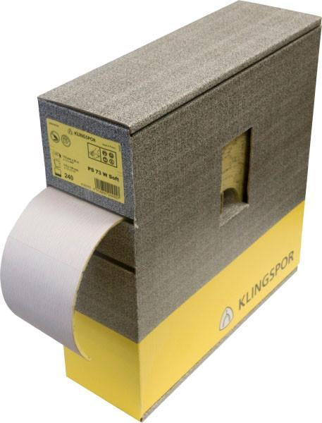 Klingspor Soft Foam Sandpaper Roll - 115mm X 25mtr