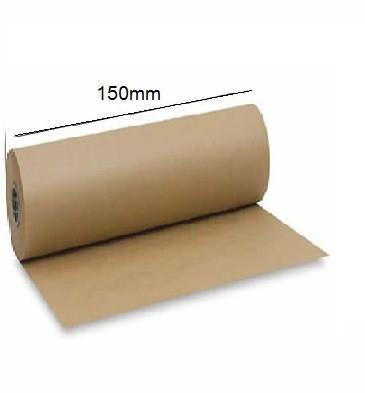 Km15050 - 150mm X  50 Mtr Brown Masking Paper