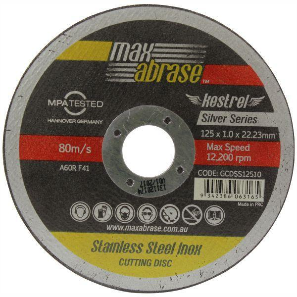 Maxabrase Silver Series Inox Cutting Disc 100 X 1.0mm
