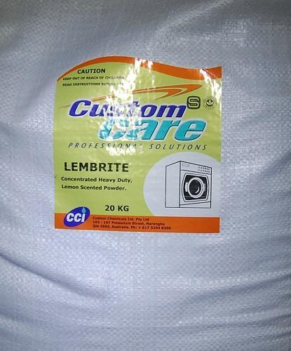 Custom Care - Lembrite Laundry Powder - 5kg