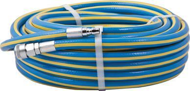 Geiger Air Hose with Couplings Fitted - 20m X 10mm