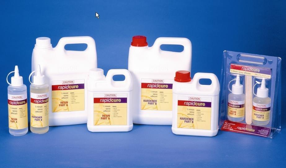 Rapid Cure 5minute Epoxy Pack (Various Sizes)