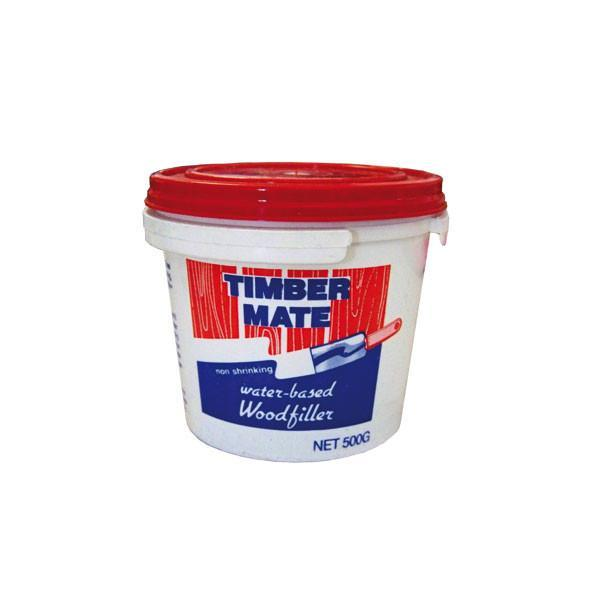 Timbermate Water Based Wood Filler - 500g (Various Colours)