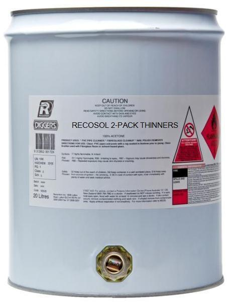Recosol 2k (2-Pack) Thinners