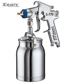 Star S770 Suction Spray Gun & Pot