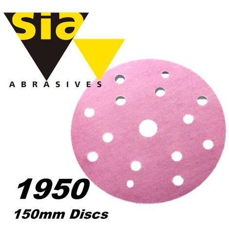 Sia 1950 Siaspeed Velcro Disc - 9 Hole - 150mm