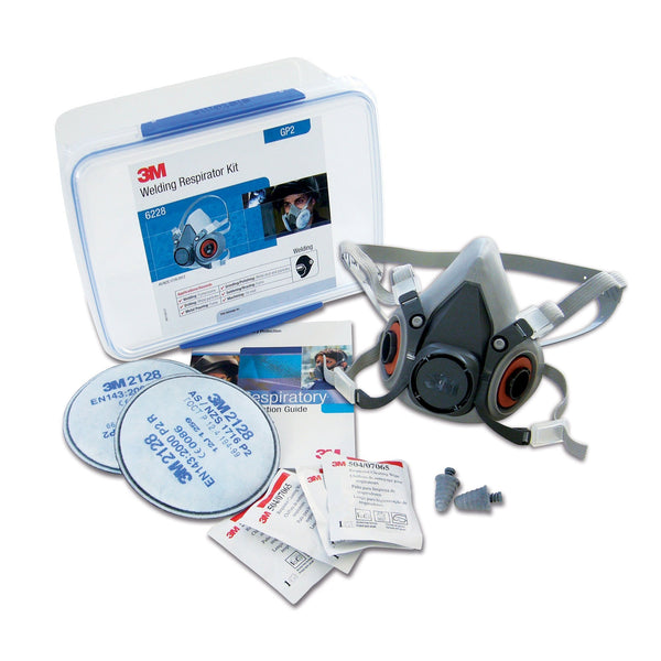 3M 6000 Series Half Face Respirator Kits (Various)