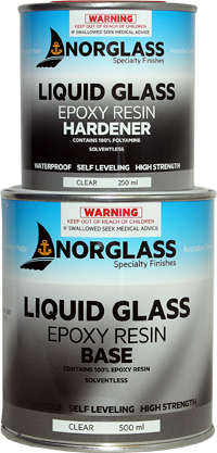 Norglass Liquid Glass 3Ltr Pack