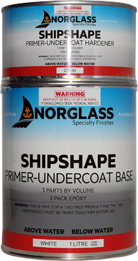 Norglass Shipshape Primer Undercoat White 500ml Pack