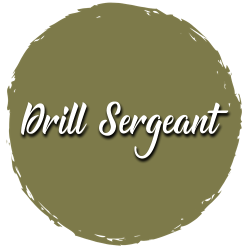 Drill Sergeant Shabby Paints Furniture Rescue Chalk-Acrylic Paint