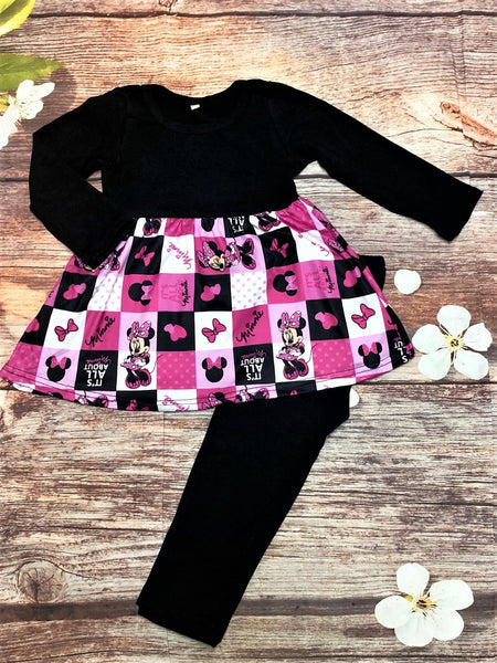 It's All About Minnie Legging Pant Set - My 4 Princesses LLC