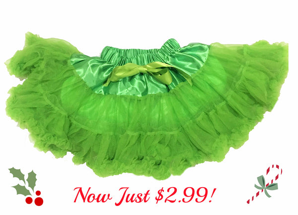 Apple Green Tutu Pettiskirt - My 4 Princesses LLC