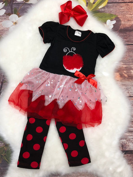 Lil Lady Bug Set - My 4 Princesses LLC