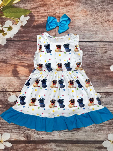 Puppy Dog Pals Skater Twirl Dress - My 4 Princesses LLC