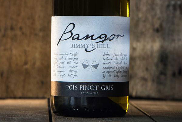 Bangor's 2016 Jimmy's Hill Pinot Gris