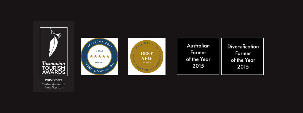 Award-winning Tasmanian Wine